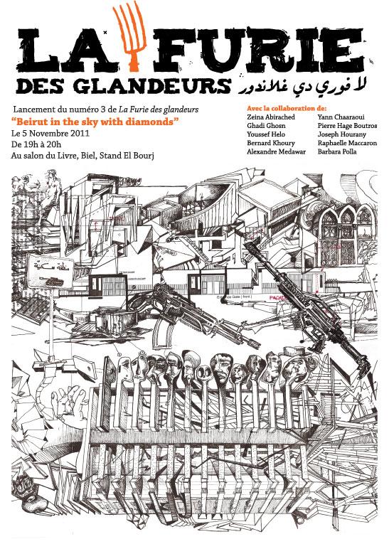 La furie des glandeurs lance son num ro 03 le samedi 5 for Architecture emotionnelle