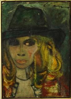 Lola Carr autoportrait