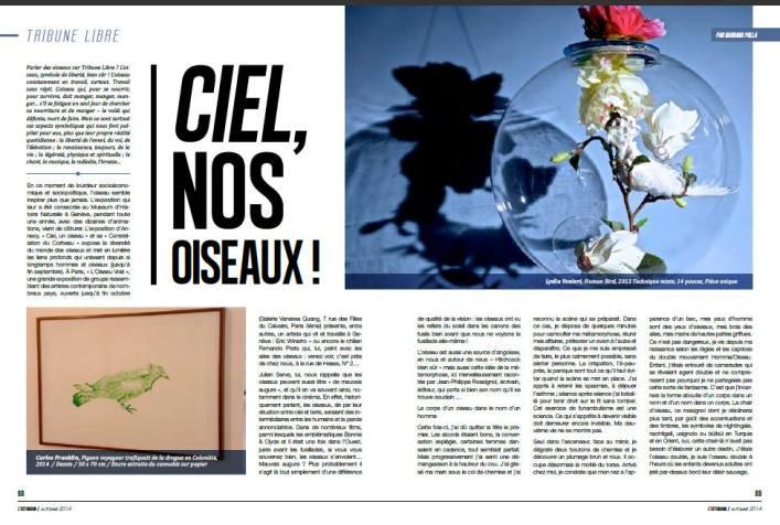 Ciel nos Oiseaux ! Page 1