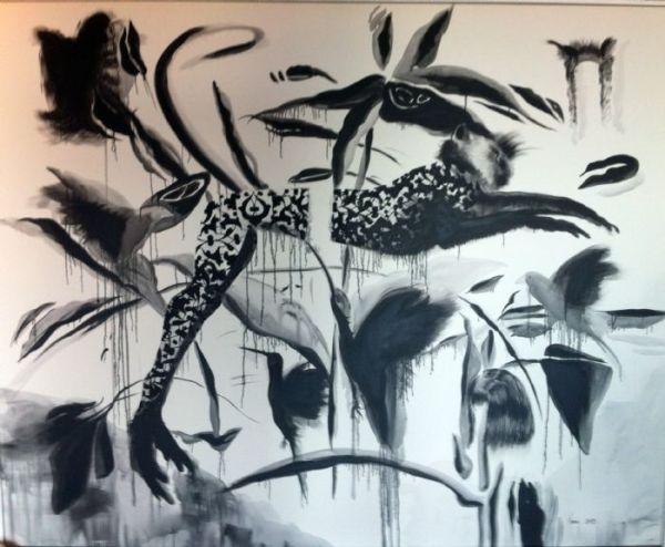 Eviner,Inci.Untitled150x200cm.Oilon Canvas