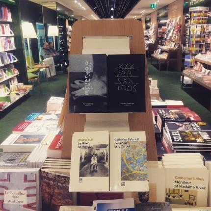 Et en librairie - ici chez Payot Cornavin à Genève